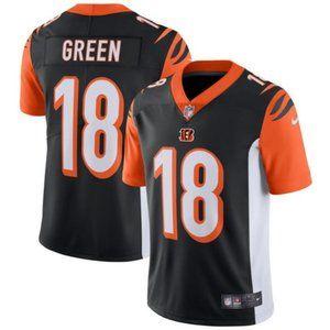 Men's Cincinnati Bengals 18 A.J. Green jersey